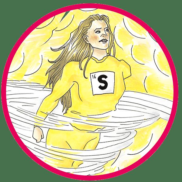 Sulfur-Woman